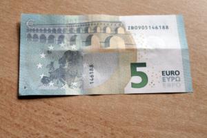 vijf euro