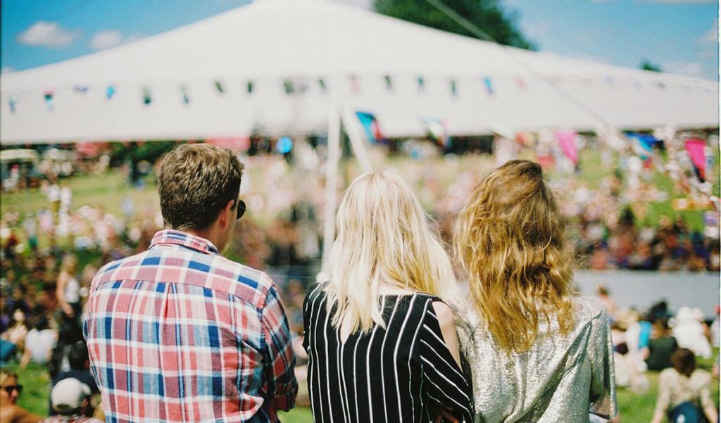 Werken op festivals