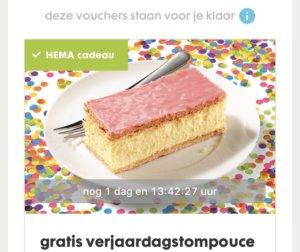 gratis producten voor je verjaardag