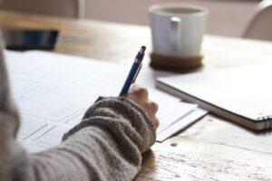 Schrijven nieuwe taal